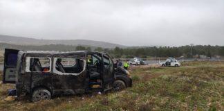 accidente carretera caudete
