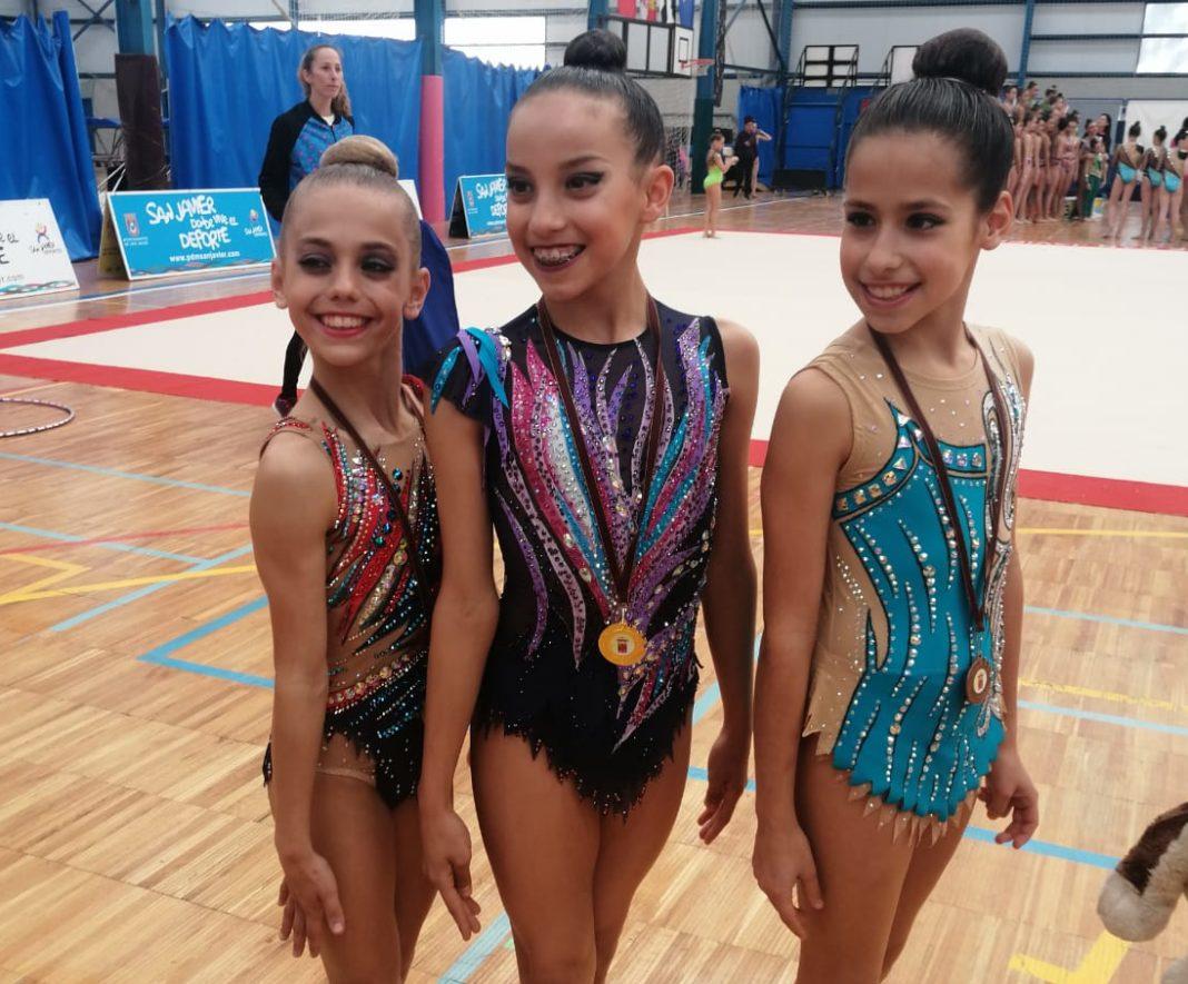 gimnastas yecla clasificatorio regional
