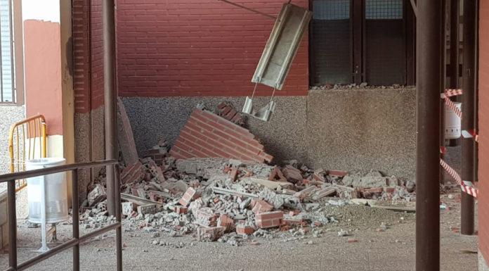 muro castillo puche derrumbe