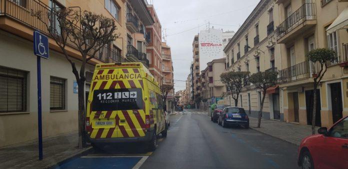 plan platemur coronavirus yecla ambulancia calle imcumplir el encierro