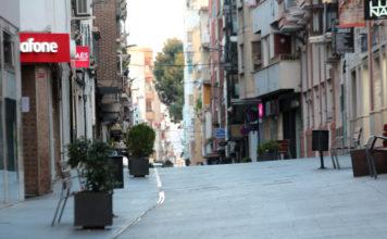 comercio calles basuras confinamiento voluntario