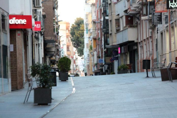 comercio calles basuras