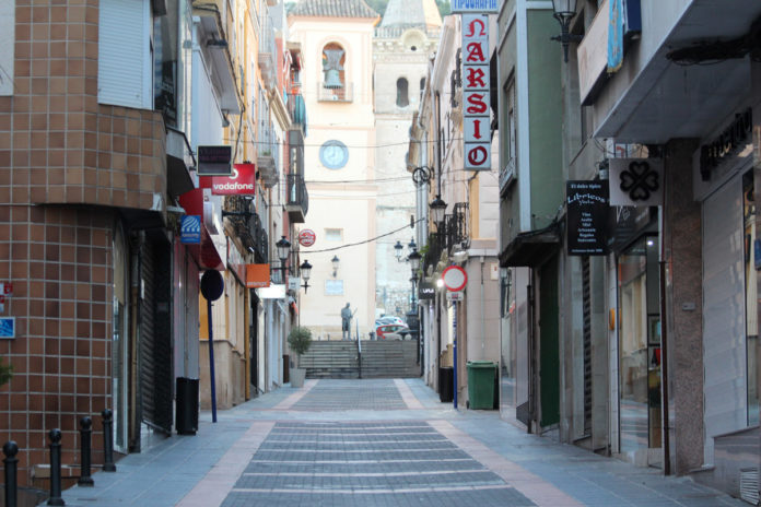 calles de Yecla el niño