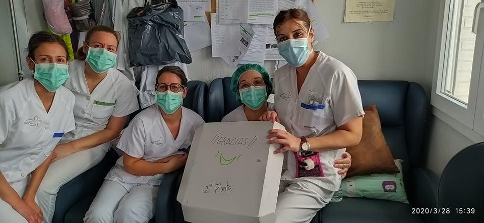 enfermeras horno callejon ancho gestos