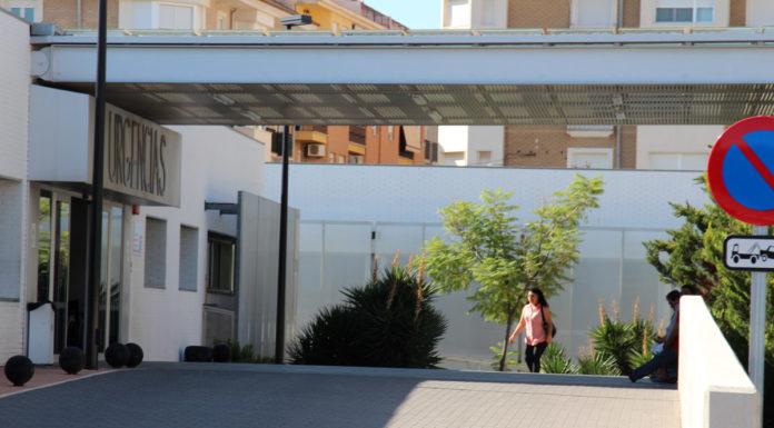 puerta de urgencias edl hospital no hya casos coronavirus