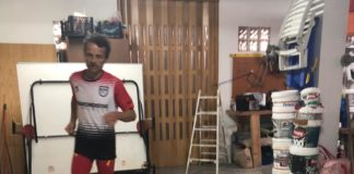 50 kilómetros Pedro Juan Zafrilla en su sótano de 45 metros