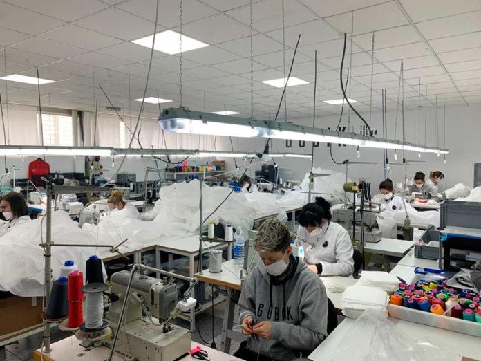 gobik mascarillas fabricación homenaje