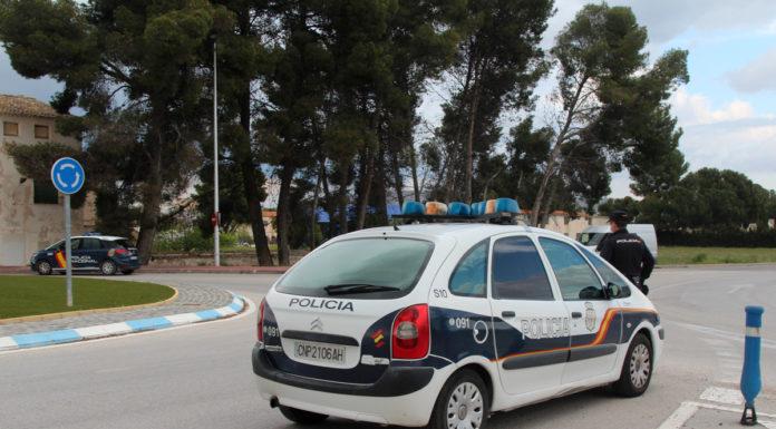 agentes policía nacional confinamiento