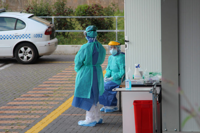 cero casos positivos de coronavirus alto riesgo