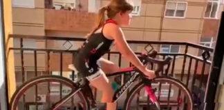 vídeo triatlón Los triatletas