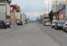 calles del poligono industrial trbajadores de Yecla