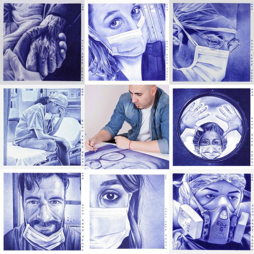 chema mora retratos sanitarios