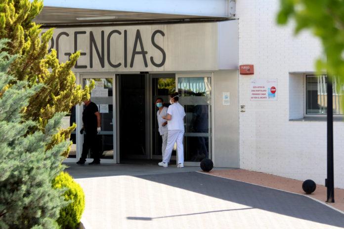 urgencias del hospital de Yecla