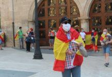 manifestación contra el gobierno coronavirus