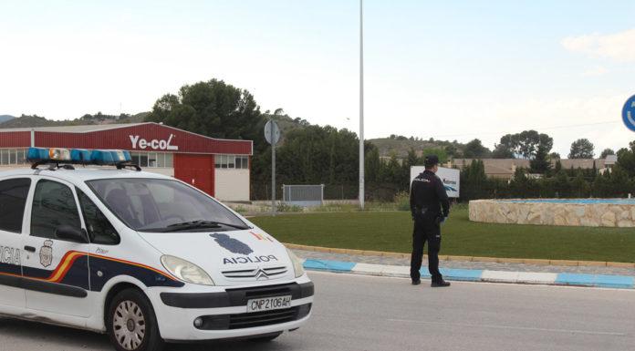 policia nacional fiesta