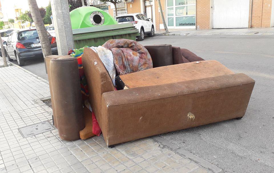 basura en las calles ortega