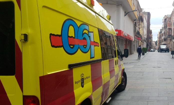ambulancia en Yecla150 positivos