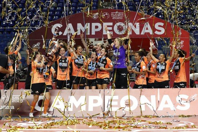Ana Romero Burela campeón liga