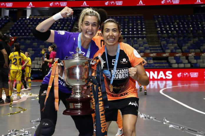 Ana Romero campeona liga Burela