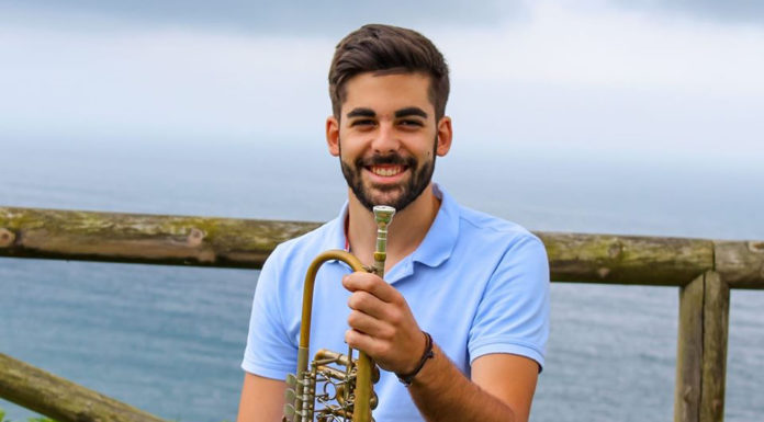 David Pérez Giménez músico trompetista