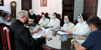 monjas encerradas y el obispado