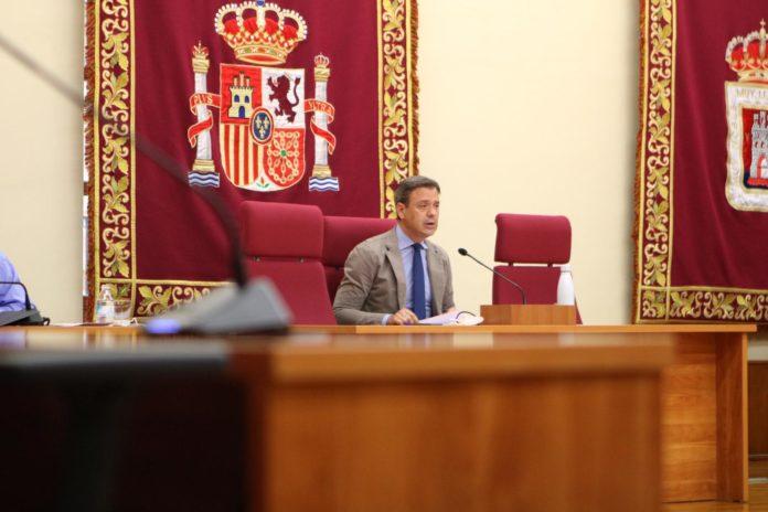 pleno ayuntamiento marcos ortuño comisaría