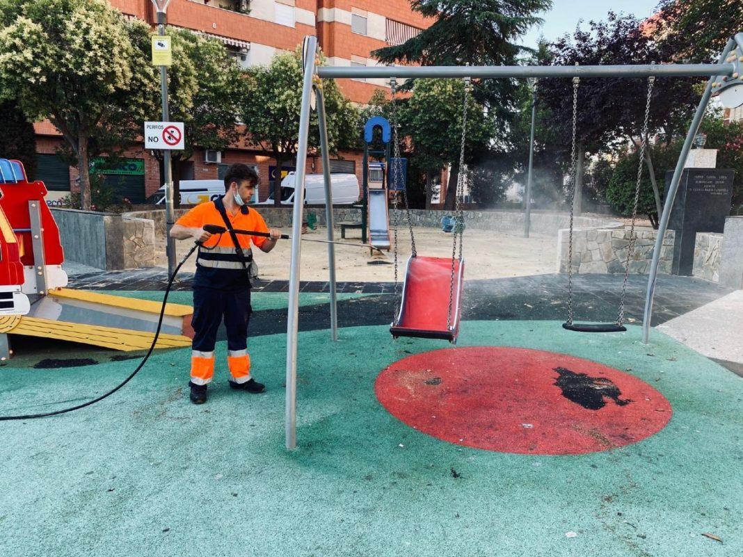 zona infantil colegios parques