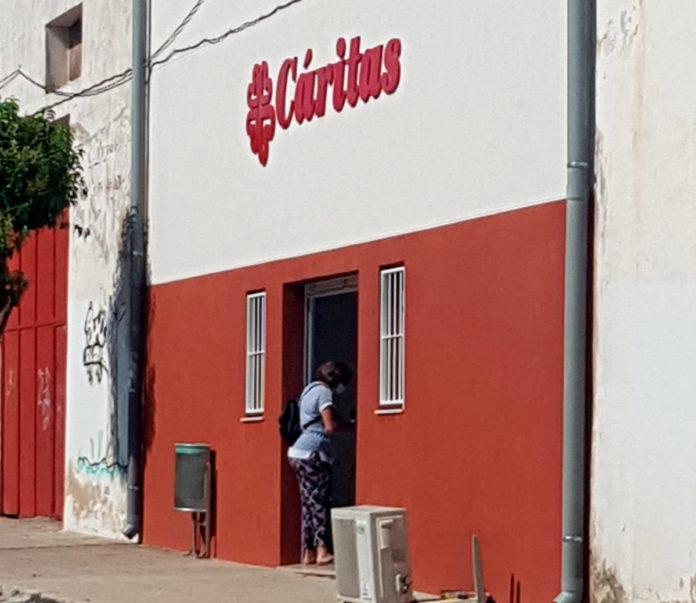la sede de cáritas en yecla