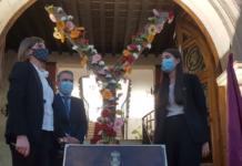 homenaje a las víctimas de la covid yecla