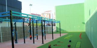 zona de entrenamiento deportivo saludable en Los Rosales