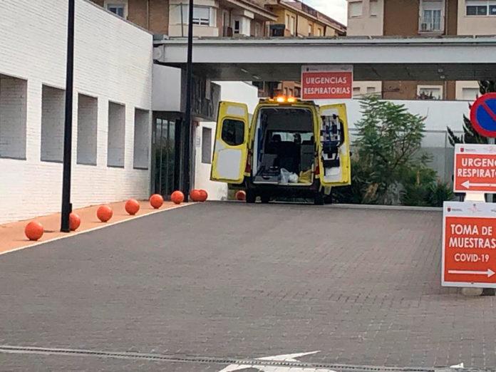 ambulancia hospital confinados segunda oleada