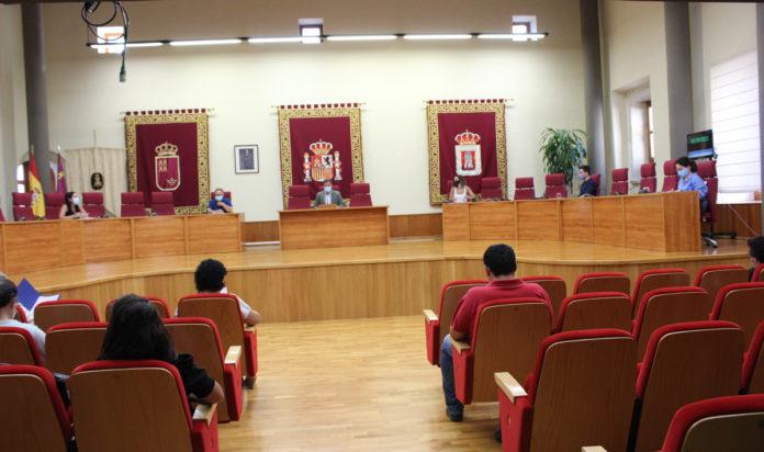 pleno del ayuntamiento de Yecla