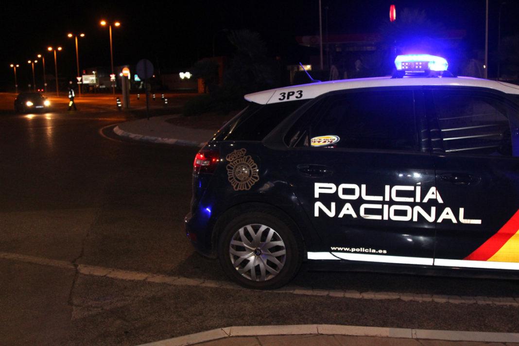 control de la policía nacional pablo iglesias