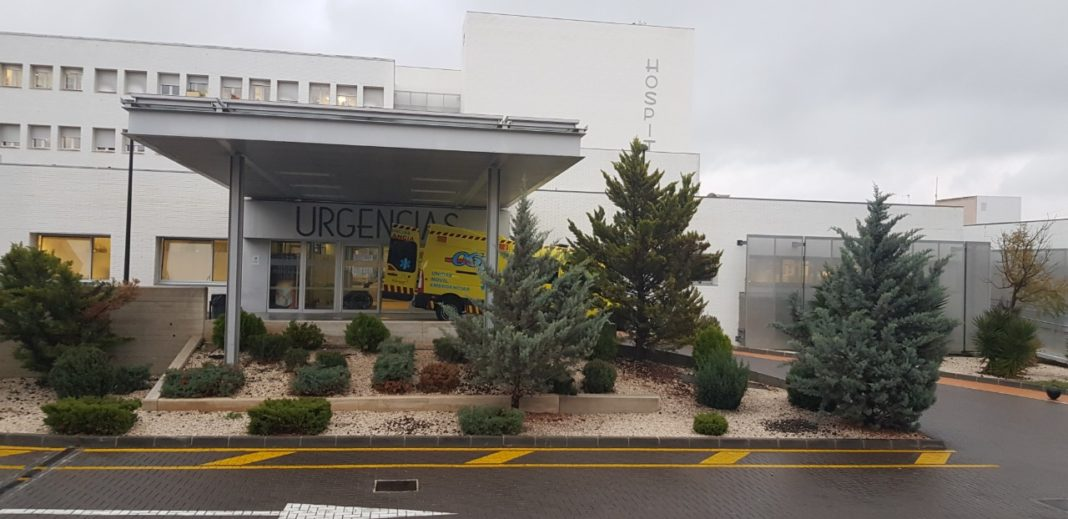 puerta de urgencias hospital de Yecla ingresadas casos activos por cada 100.000 habitantes