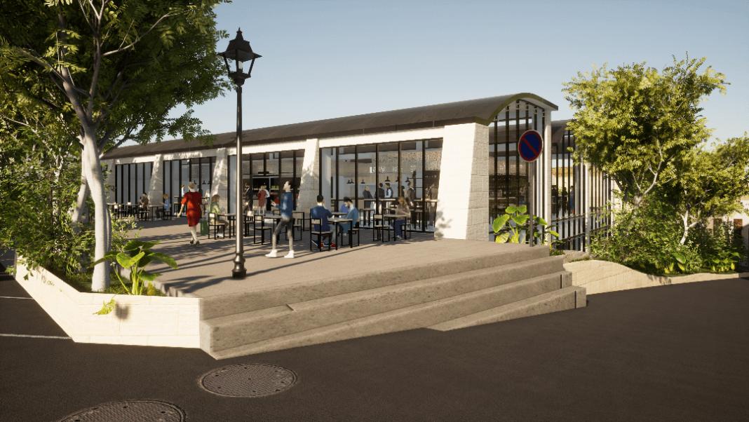 proyecto del nuevo hotel del mercado central