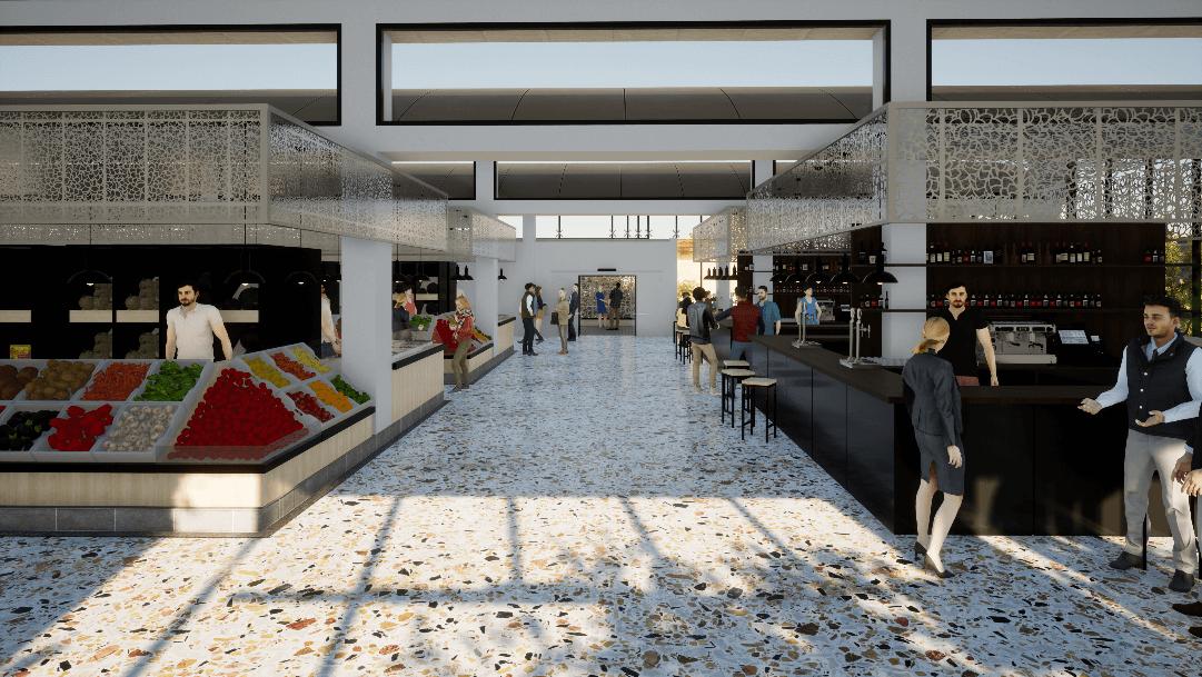 proyecto del nuevo mercado central de Yecla