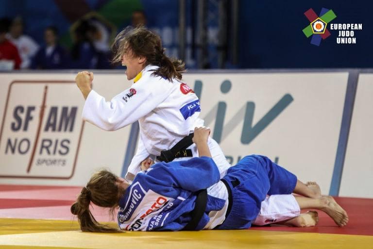 isabel puche campeonato europeo de judo