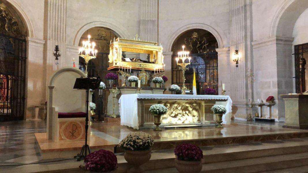 cristo del sepulcro rogativa extraordinaria