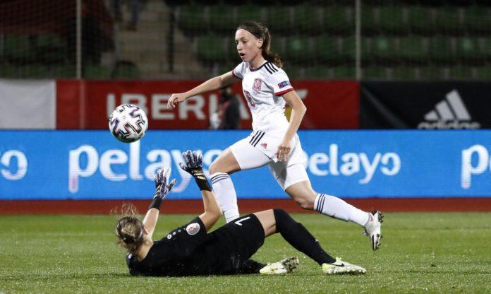 Eva Navarro selección primer gol
