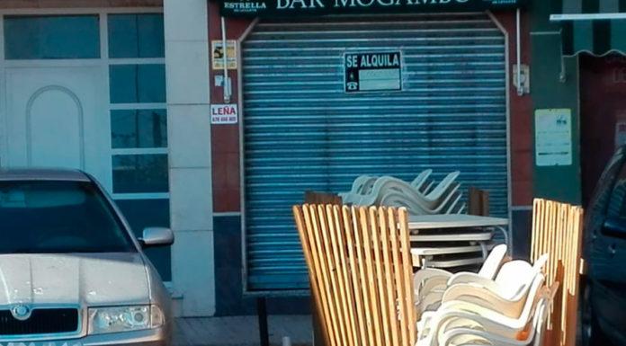 hostelería yeclana cerrada