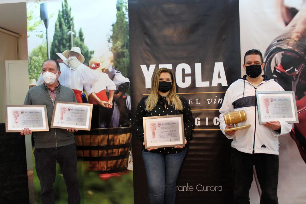 premiados en la ruta del vino y la tapa