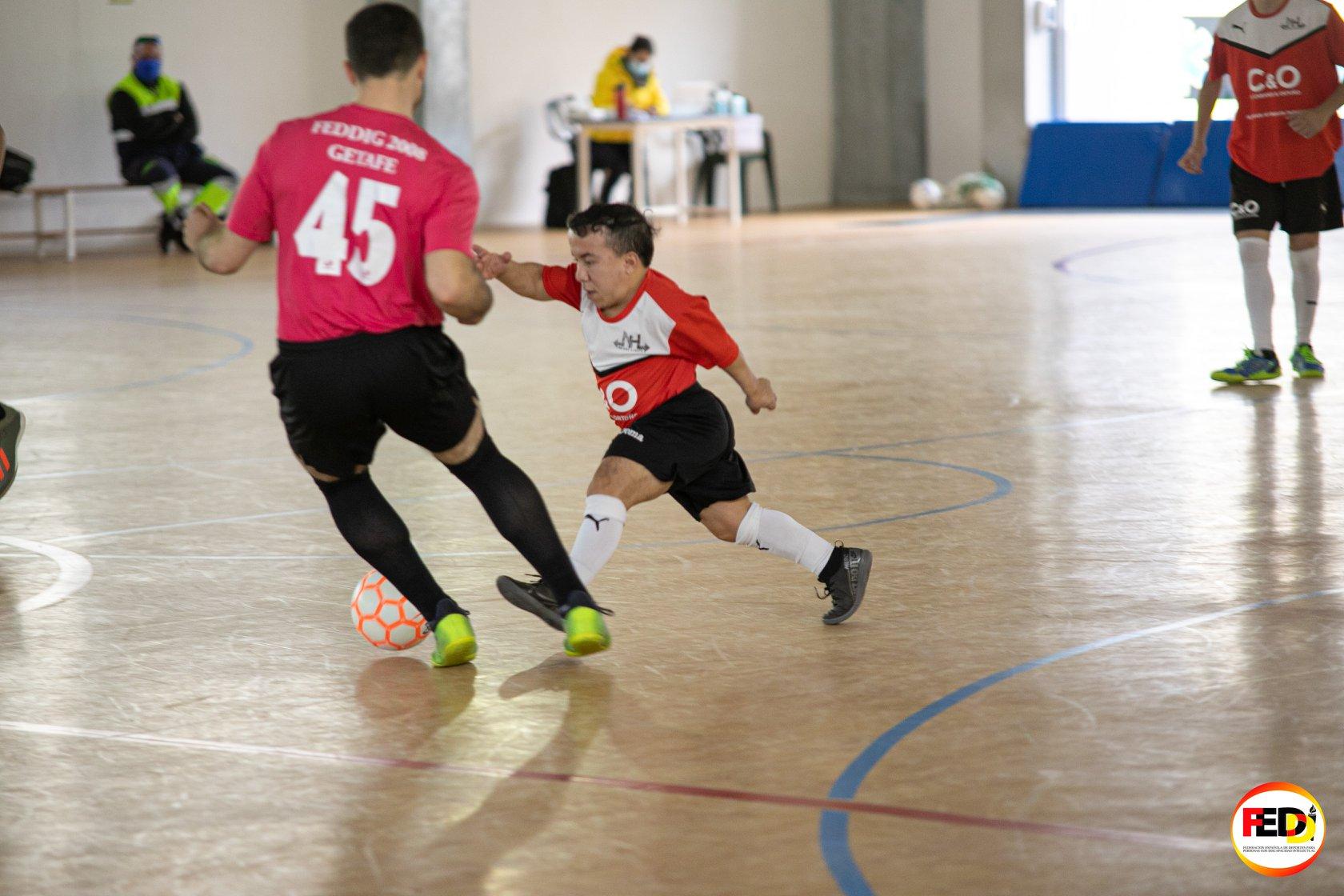 feddi foto no hay límite campeonato españa fútbol sala
