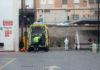 ambulancia de la covid-19 contagiados