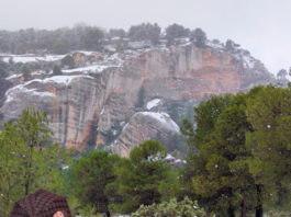 nevadas en Yecla