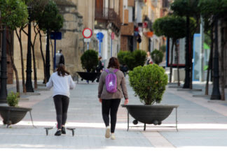 calles gente días de la covid