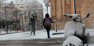nieve temporal previsiones meteorológicas