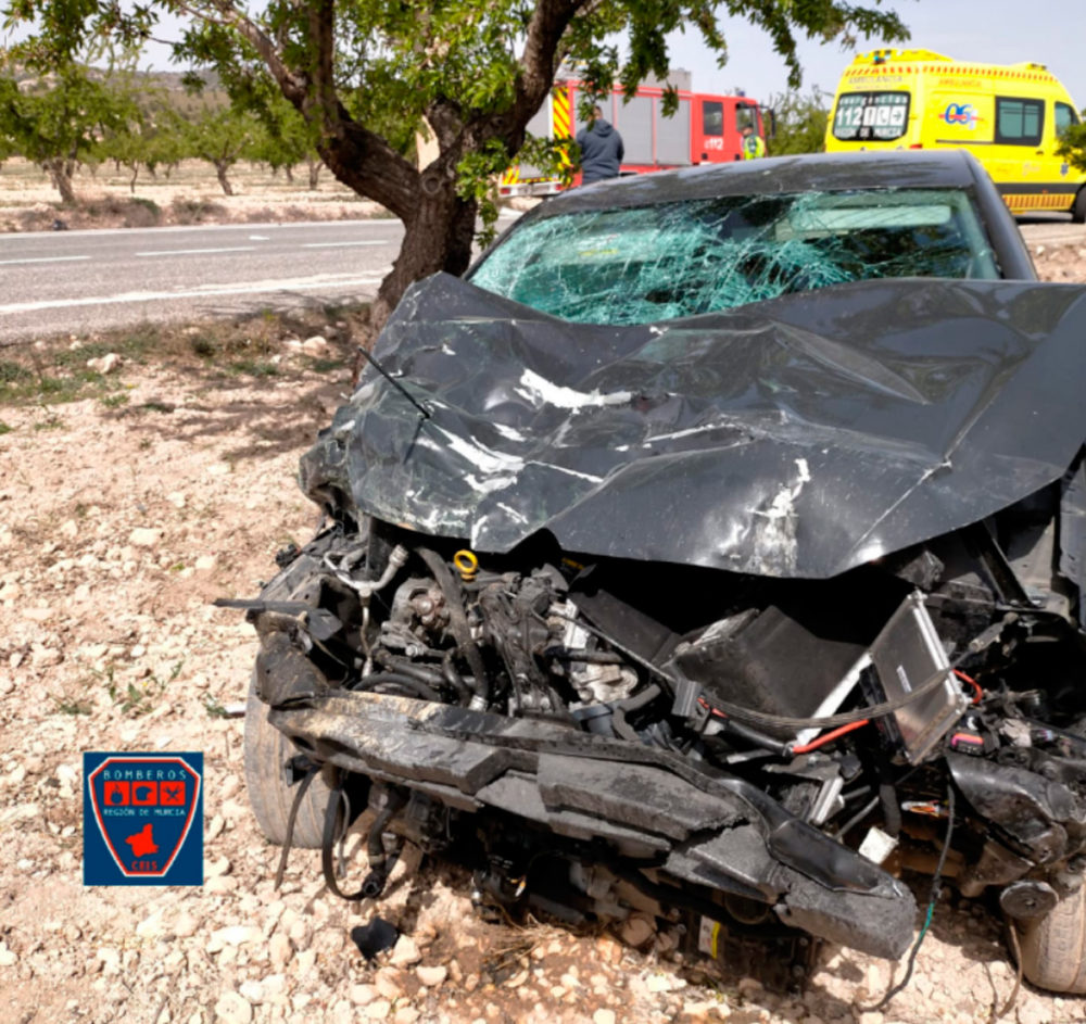 grave accidente jumilla