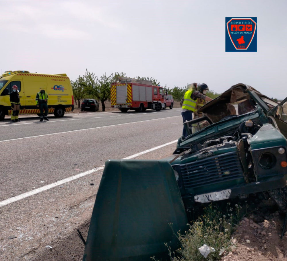 grave accidente jumilla heridos