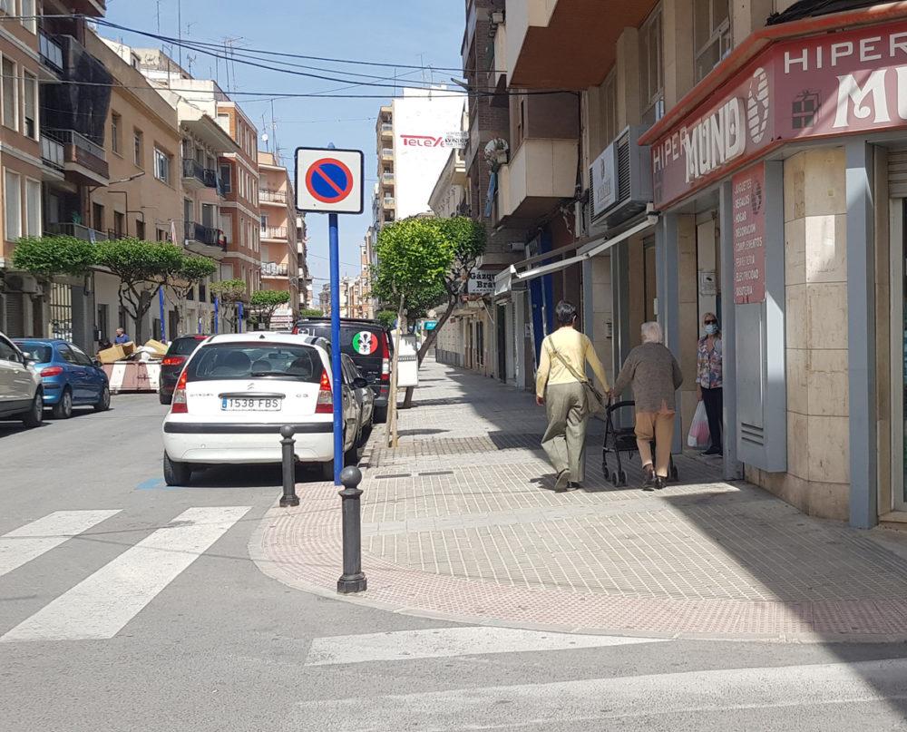 incidencia covid baja calles yecla