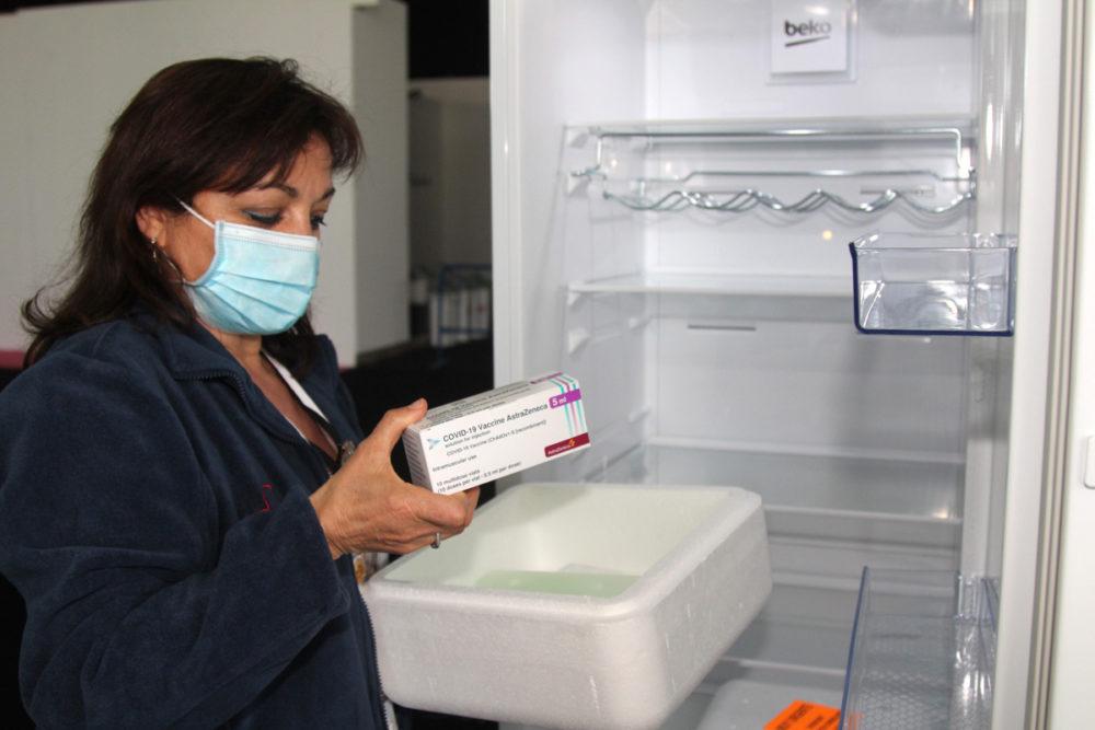 citas vacunación masiva en Yecla